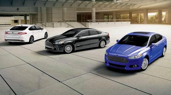 2016 Ford Fusion Exterior Trio