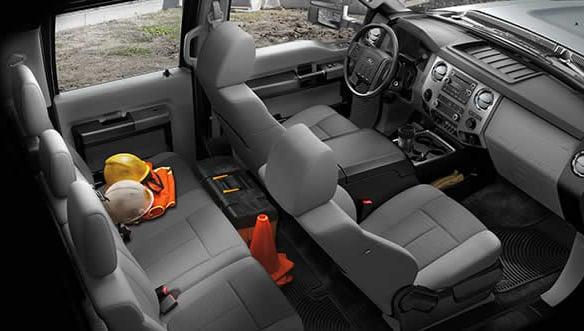 2015 Ford F-450 Interior