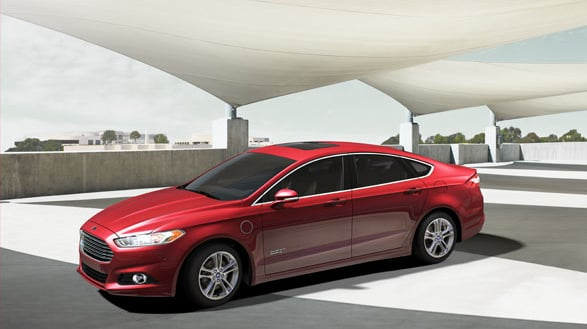 2015 Ford Fusion Energi Exterior Side View