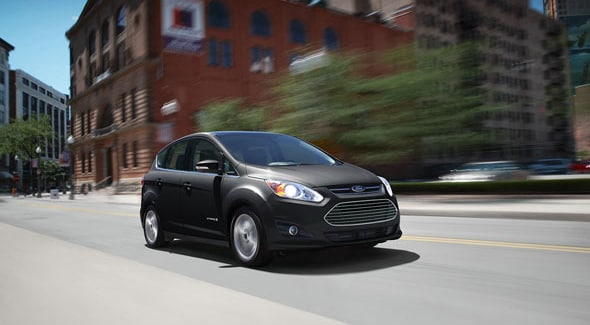 2015 Ford C-MAX Hybrid Exterior Front End