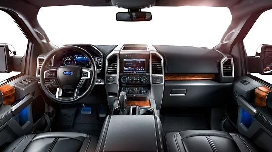 2015 Ford F-150 Platinum Interior US Model