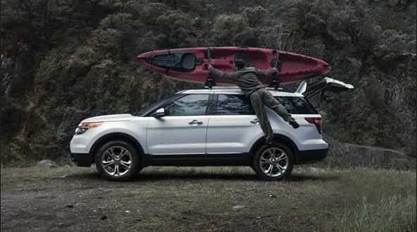 2015 Ford Explorer Exterior Side View