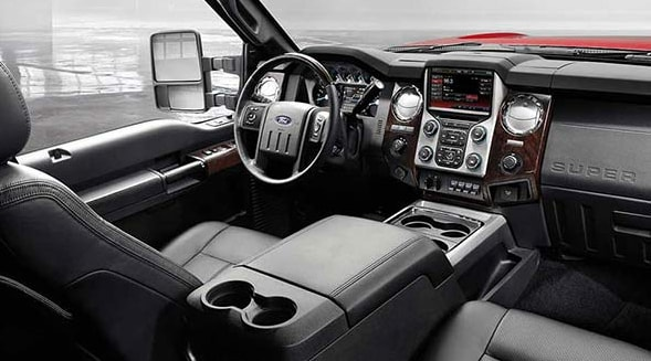 2015 Ford F-350 Super Duty Interior Dashboard