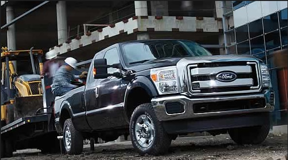 2015 F-250 Super Duty Exterior Side View