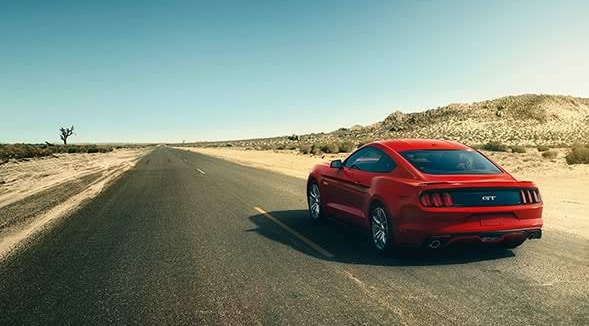 2015 Ford Mustang Exterior Rear End