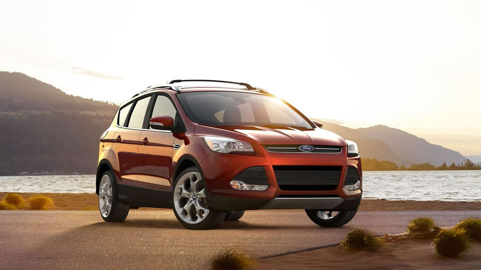 2015 Ford Escape Exterior Front View