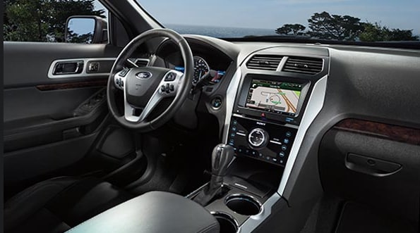 2015 Ford Explorer Interior Dashboard