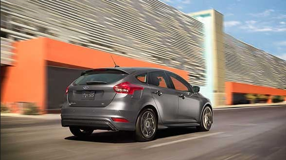 2015 Ford Focus Electric 5-Door Hatchback Exterior Rear End