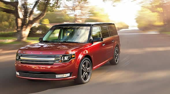 2015 Ford Flex Exterior Front End