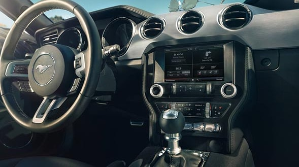 2015 Ford Mustang Interior Dashboard