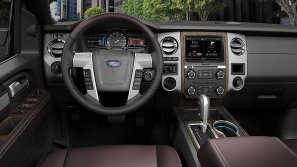 2015 Ford Expedition Interior Dashboard