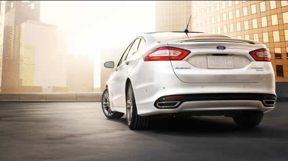 2015 Ford Fusion Exterior Rear End