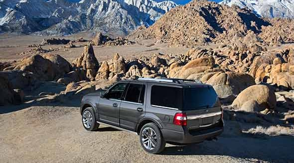 2015 Ford Expedition Exterior Rear End
