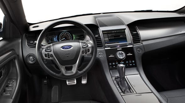 2015 Ford Taurus Interior Dashboard
